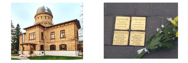 Foto Verein Kuffner Sternwarte und Verein Steine der Erinnerung